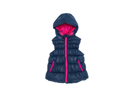 jupe: childrens jacket isolated on white Stock Photo