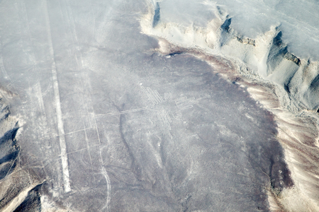 the pampas: The Nazca Lines Stock Photo