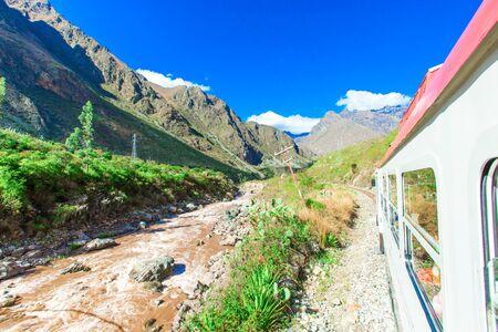 machu picchu: Peru Rail from Cuzco to Machu Picchu (Peru)