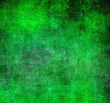 irish christmas: abstract green background Stock Photo