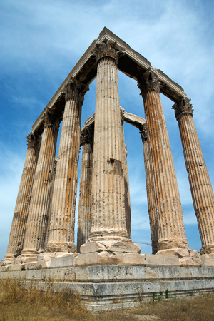 olympian: Temple of Olympian Zeus , Athens , Greece .