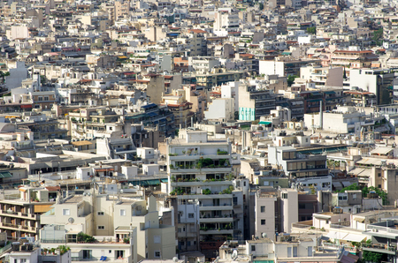 panoramic view of the Thessaloniki city