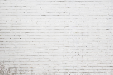 Muro di mattoni bianchi per lo sfondo o texture