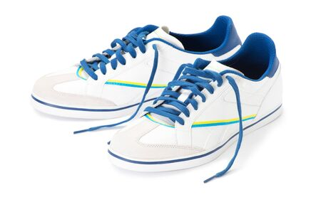footgear: shoes on white