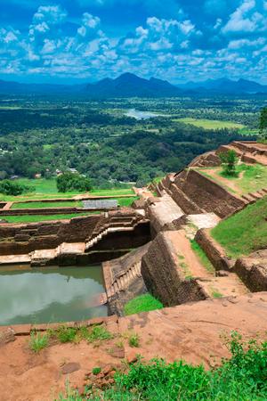 シギリヤ ライオン ロック スリランカの要塞