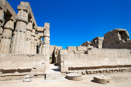 thebes: Africa, Egypt, Luxor, Karnak temple