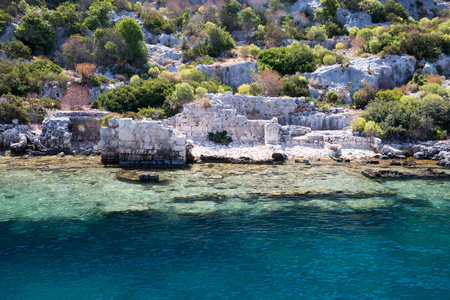 the sunken: Sunken City Kekova, Antalya, Turkey