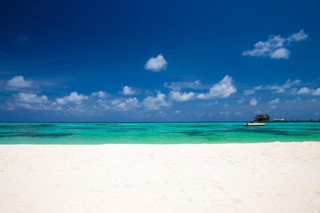 Tropical paradise landscape in Maldives
