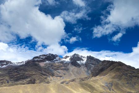 landscape in mountains.  Peru.
