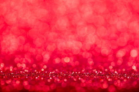 christmas background red holiday bokeh. abstract defocused light