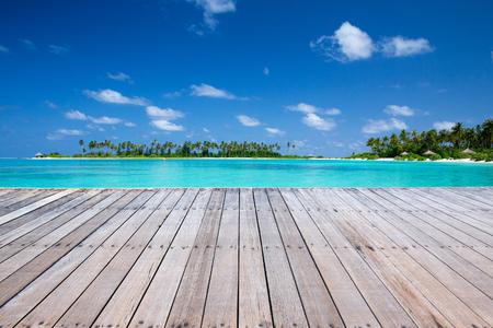 Exotic beach background.