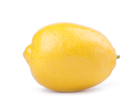Lemon isolated on white background. With clipping path