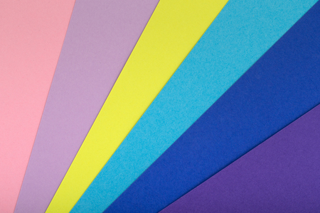Multicolor background from a cardboard of different colors Stock Photo - 106359743