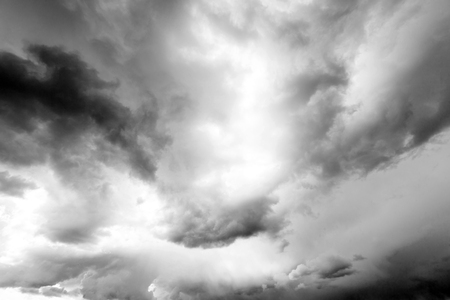 dark storm clouds with background