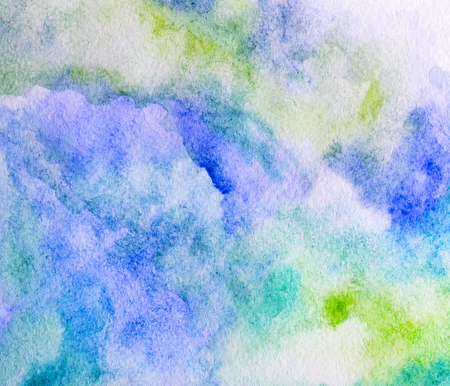 colorful watercolor background. hand painted by brush