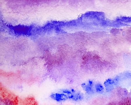 pink watercolor splash stroke background Stock Photo