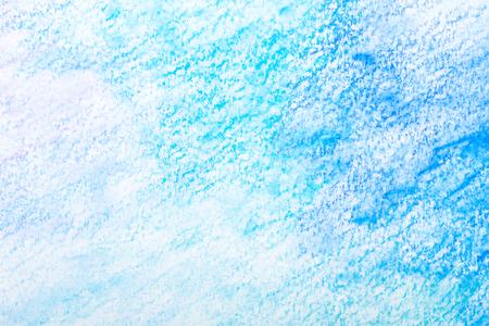 blue watercolor splash stroke background Stock Photo