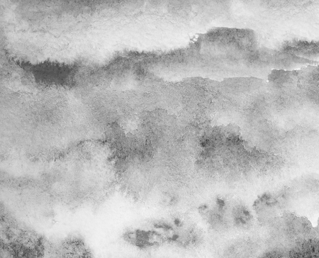 grey watercolor background. hand painted by brush