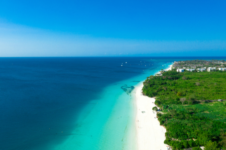 Amazing bird eyes view in Zanzibar