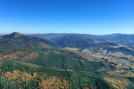 Carpathian mountain sunny landscape Stok Fotoğraf - 132615071