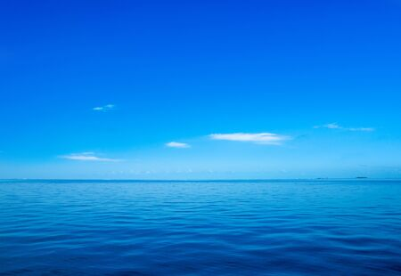tropical beach in Maldives . blue sea Фото со стока