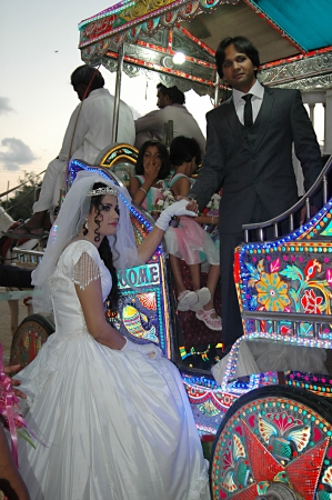 indo: KARACHIPAKISTAN_ Pakistani christians wedding ritual just like other asian Indo -Pakistani weddin ceremonies females perfrom all those tradiations rituals and music band plays 13 Dec. 2012
