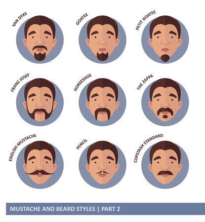 Mustache And Beard Styles