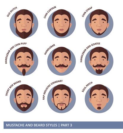 style goatee: Mustache And Beard Styles
