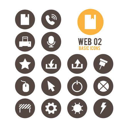 Web icons. Vector Illustration. Stock Vector - 85752117