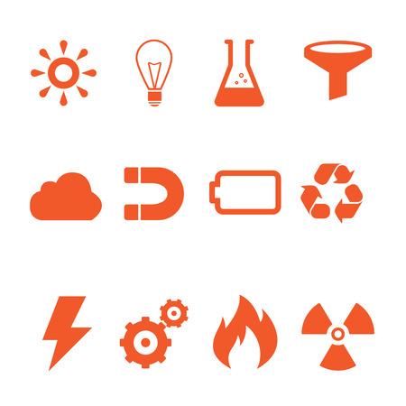 energy: Energy icon Stock Photo