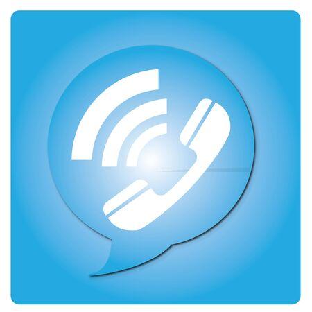 llamando: Icono de llamada