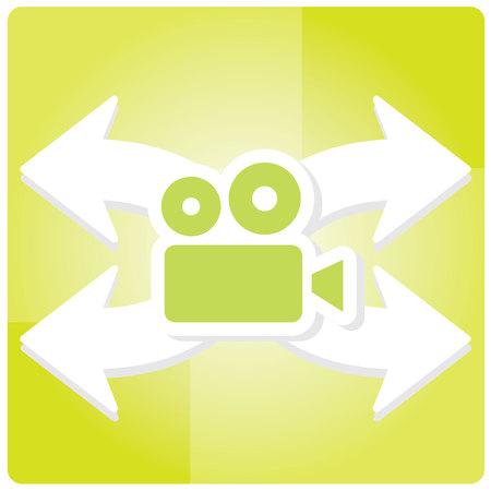 llamando: Llamando Video Icon