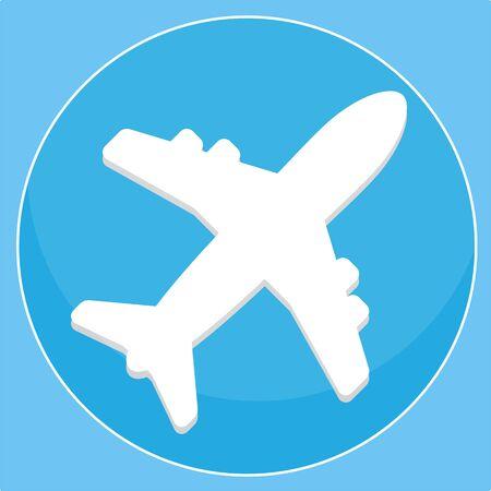 Plane Vector Stock Photo - 43612925