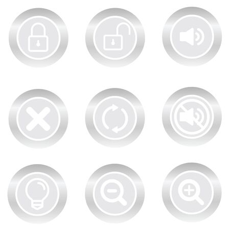 botton: Botton icon Social Stock Photo