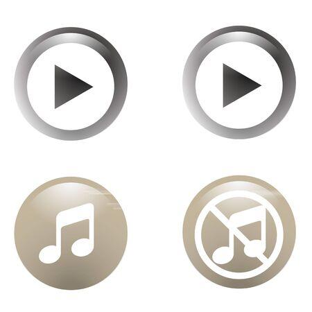botton: Botton icon Music
