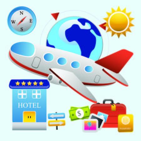 Holiday Travel Stock Photo