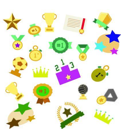 Award Toy Icon Stock Photo