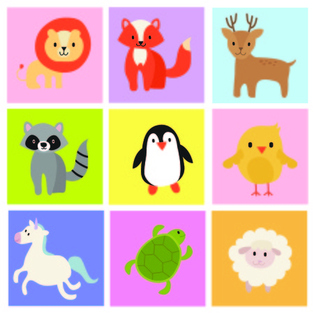 Zoo icon Vector photo