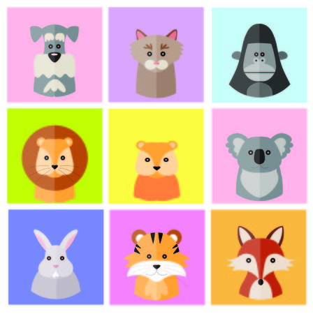 Animal Vector Icon Stock Photo