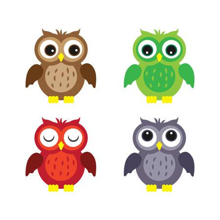 Owl Vector Stock Photo - 39728119