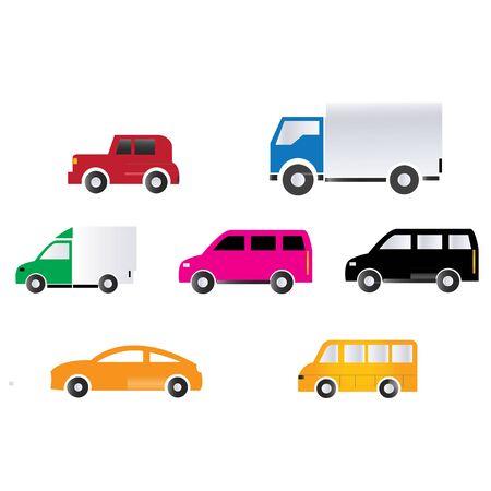 Truck Vector Icon Stock Photo - 39728118