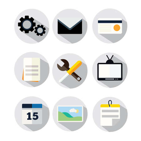 Office Tool Icon Stock Photo