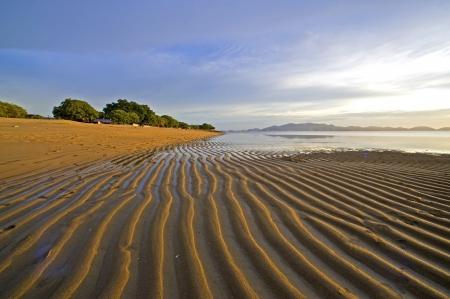 pulau: Kuala Muda Beach, Penaga, Pulau Pinang  Stock Photo