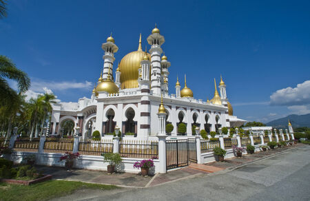 spellbinding: Masjid Ubudiah - ranking high on the list of Malaysia s most beautiful mosques, the Masjid Ubudiah  or Ubudiah Mosque  stands proudly and majestically in Kuala Kangsar, with its golden dome and minarets creating a spellbinding sight, from near and afar
