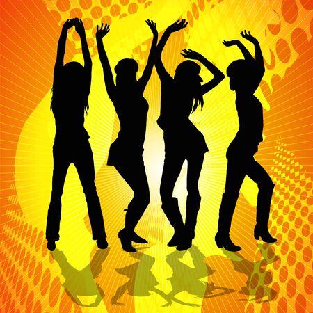 Dancing Women photo