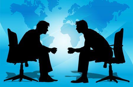 collaborators: Business Men in the company