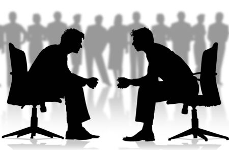 Business Men in the company Stock Photo - 3597060