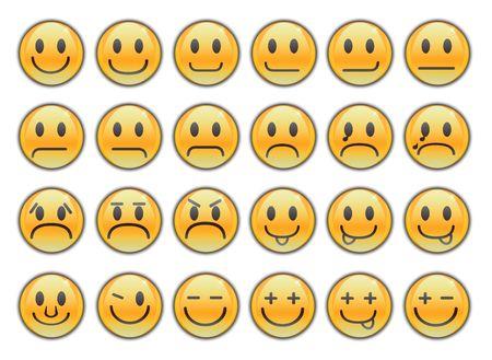 Smiles , emoticons