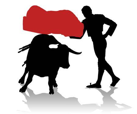 bullfighter: Bullfighter in action