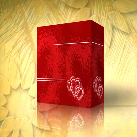 3d box for generics products photo